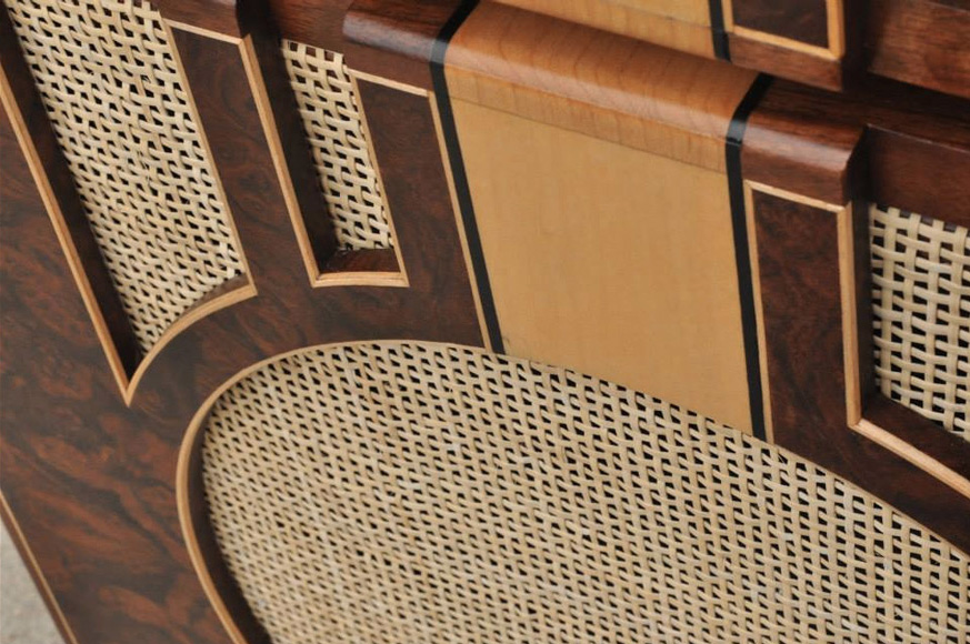 Custom Lone Star Hardwood grille