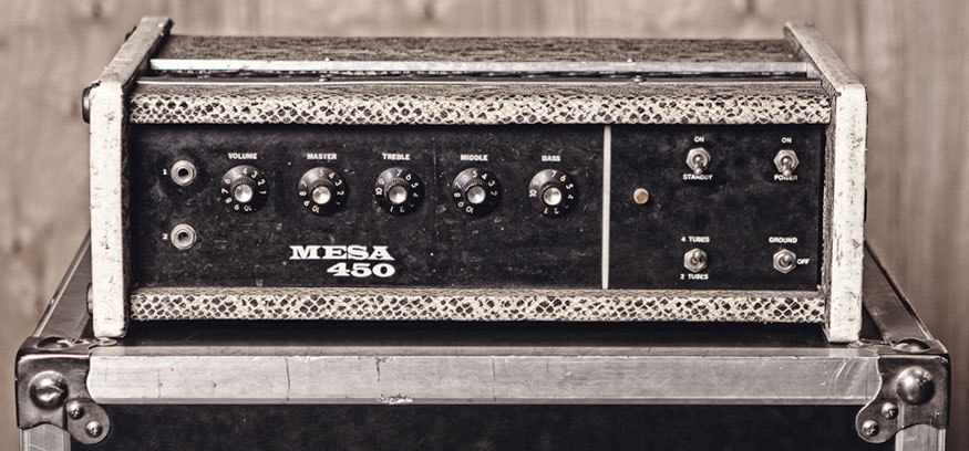 The FIRST Mesa ever built - The Bass 450