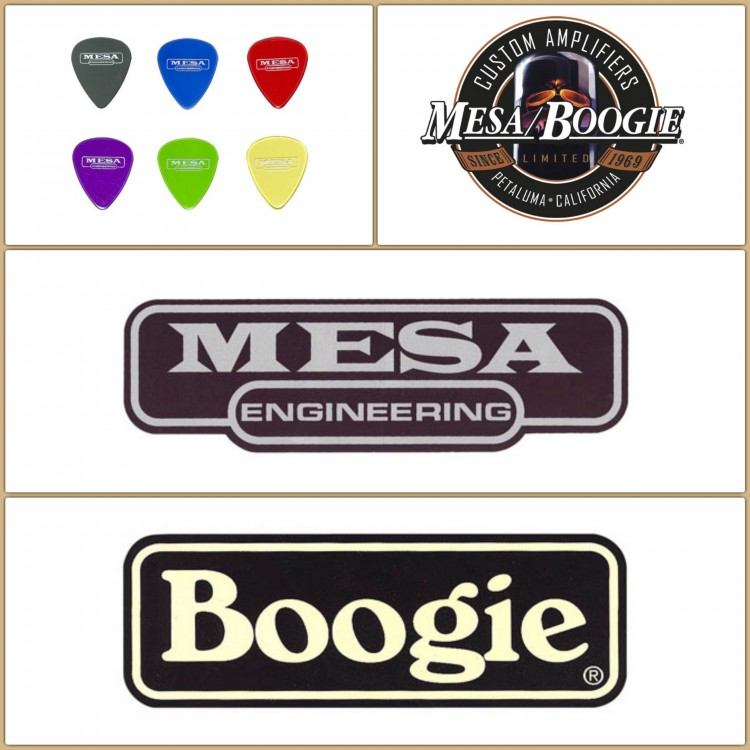 Mesa Picks & Stickers Collage