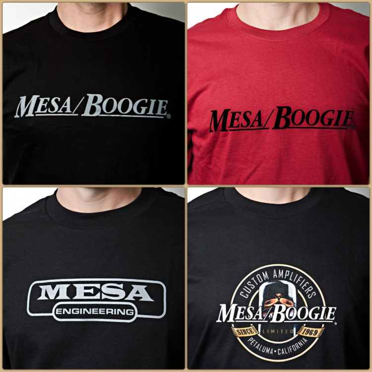 Mesa Tee Shirts Collage