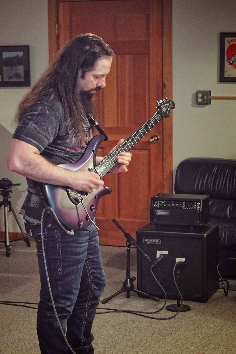 John Petrucci Playing the Mark Five: 25 Prototype