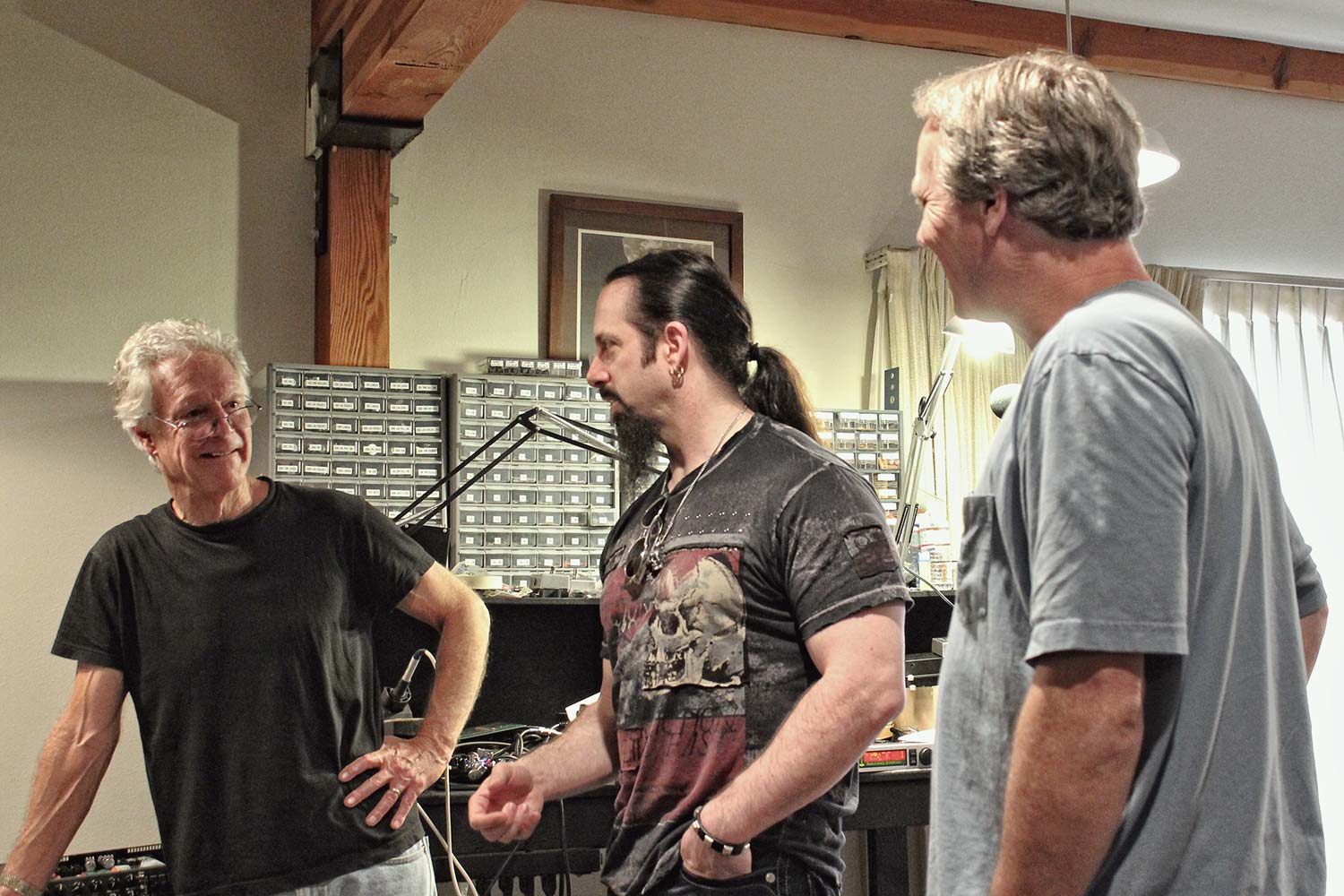 Randall Smith, John Petrucci and Doug West