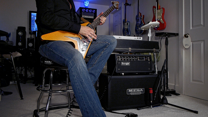 Gibson Flying V with Mark Five: 35