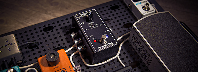 High-Wire Boost on pedalboard