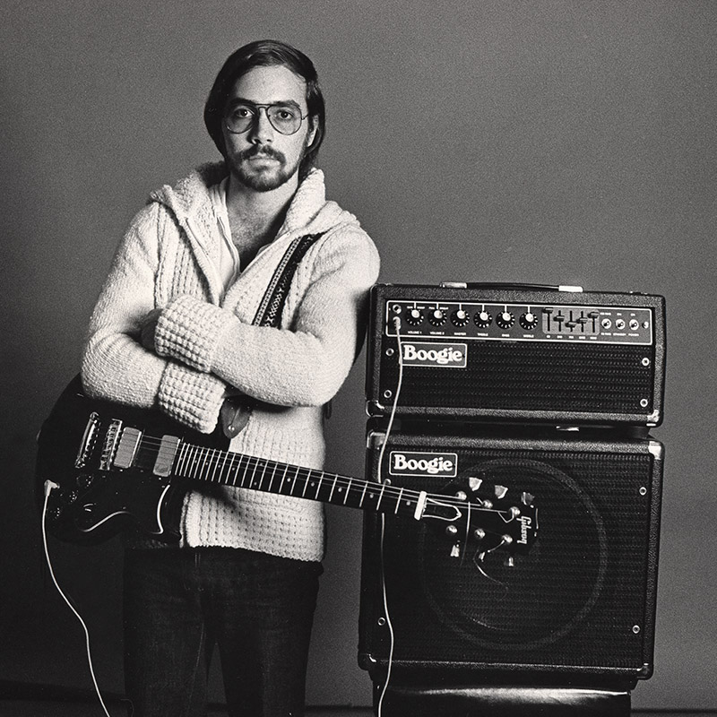 Al Di Meola with an early Mark II