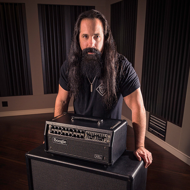 John Petrucci with the JP-2C