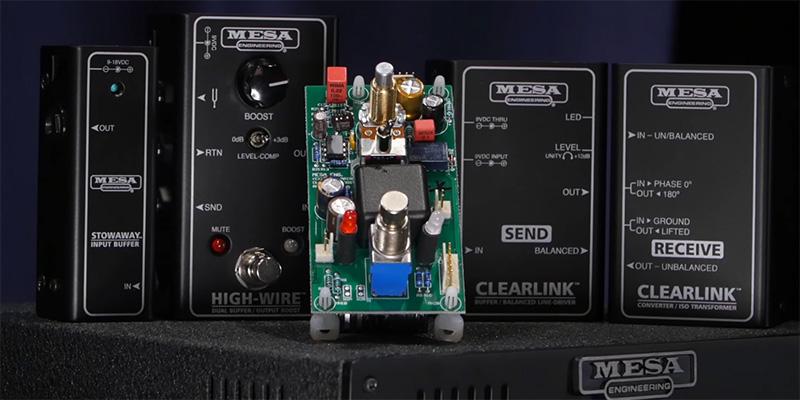 Mesa Buffer Circuitry