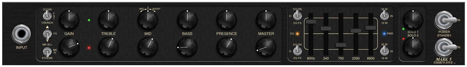 Mark Five: 35 Rhythm Settings