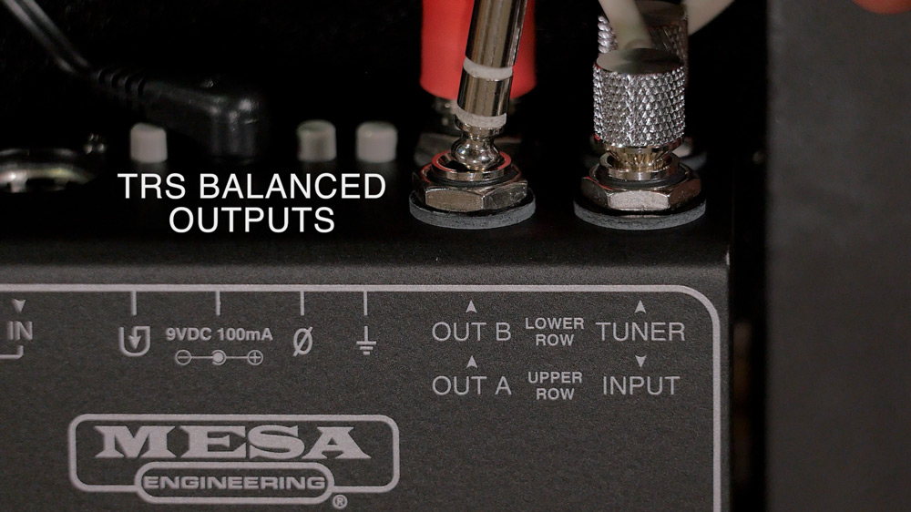 TRS Balanced Outputs