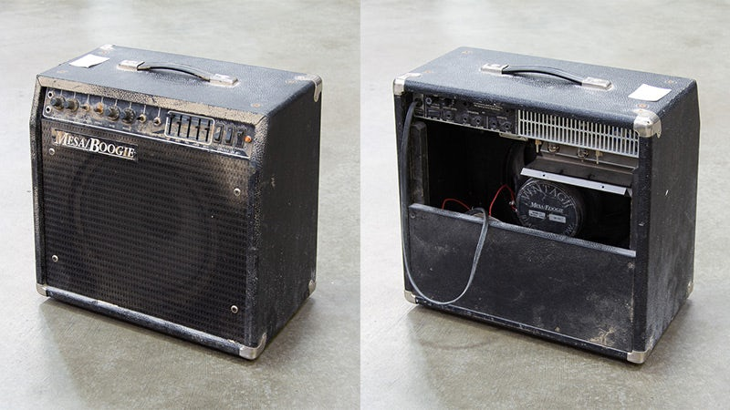 Hurricane Harvey MESA/Boogie .22 Caliber before and after