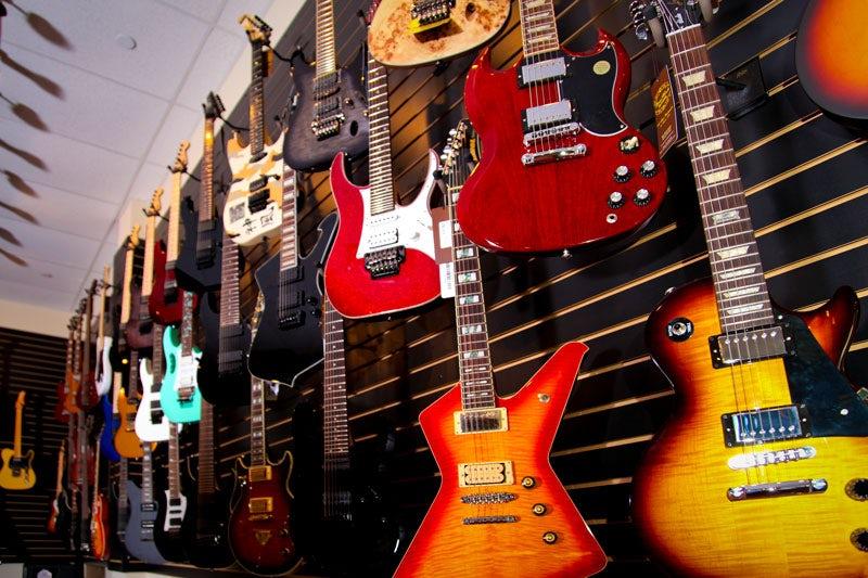 Beau Monde Guitar Wall