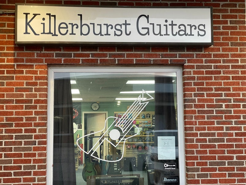 Killerburst Guitars storefront