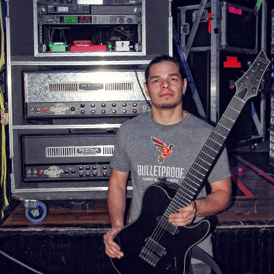 Chris Garza - Suicide Silence