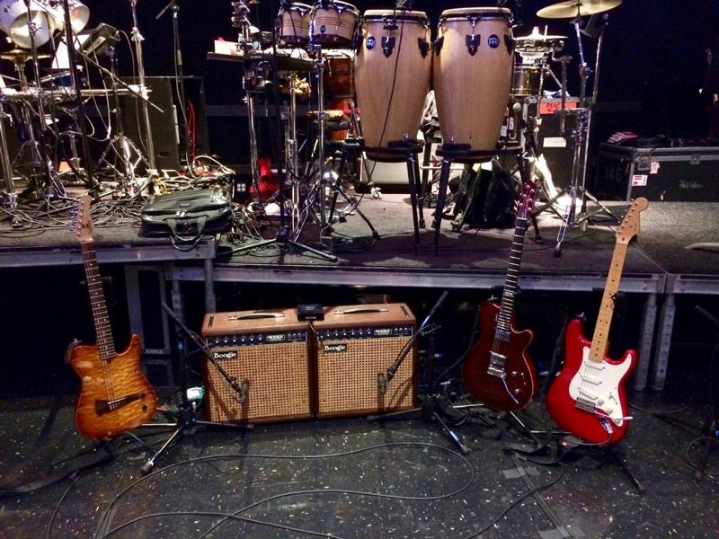 Daryl Stuermer's Mark I's on Stage