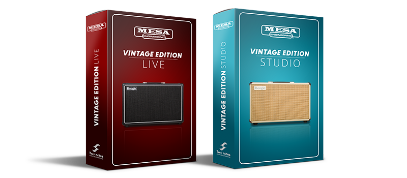 Vintage Edition Live and Vintage Edition Studio Set