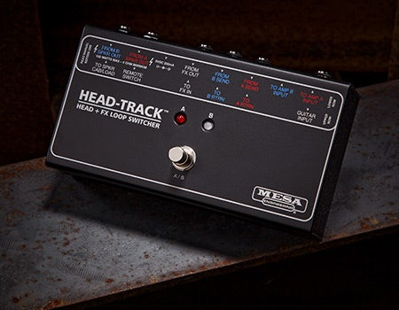 HEAD-TRACK HEAD + FX LOOP SWITCHER