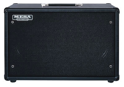 2x12 Three-Quarter Back™  Guitar Cabinet, front
