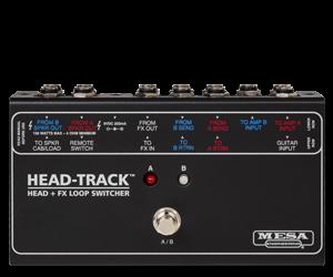 "HEAD-TRACKâ""¢ Head + FX Loop Switcher"