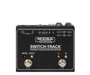 "SWITCH-TRACKâ""¢ Buffered & Dual Isolated ABY Switcher"