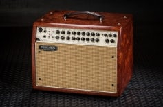 Rosette 300 / Two:Eight Acoustic Combo - Private Reserve Figures Bubinga, Cream Tan Grille