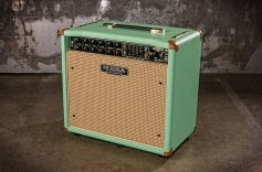 Express 5:25+ Surf Green, Cream Tan Grille