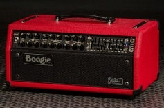 JP-2C Head - Red Bronco Vinyl, Black Jute Grille