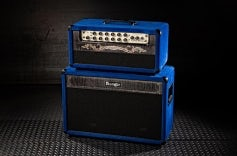 Lone Star® Special™ - Blue Suede, Black Stained Flame Maple, Black Grille
