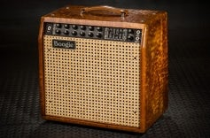 Mark Five: 35 Combo - Private Reserve Honey Amber Quilt Maple, Wicker Grille