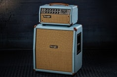 Mark Five: 25 Baby Blue Bronco, Tan Grille