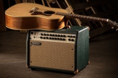 Rosette 300 / Two: Eight Acoustic Combo - Emerald Bronco, Tan Jute Grille