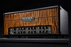 Black Taurus with Private Reserve Tiger Eye Flame Maple Front Panel