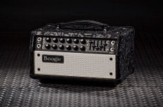 Mark Five: 25 Head - Black Floral Leather, White Grille
