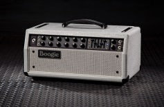 Mark Five: 35 Head - White Crocodile Embossed Leather, White Grille