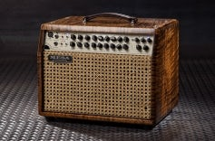 Rosette 300 / Two:Eight Acoustic Combo – Premier Cinnamon Flamed Maple, Wicker Grille