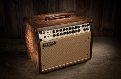 Rosette 300 / Two:Eight Private Reserve Walnut with Tan Grille