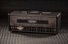 Triple Rectifier Head - Grey Taurus, Private Reserve Charcoal Flamed Maple Panel